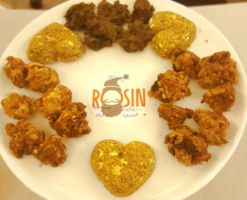 Rosin Tiergesundheit Ernährung - Rezept Leberwurst Bananenbiskuits